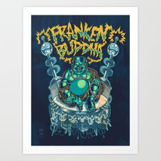 Franken-Buddha Art Print