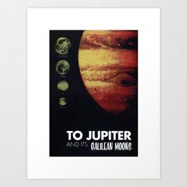 To Jupiter Art Print