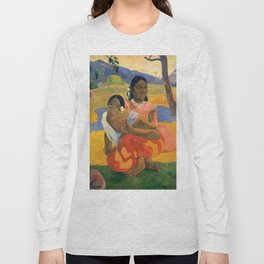 Affordable Art $300,000,000 When Will You Marry by Paul Gauguin Long Sleeve T-shirt