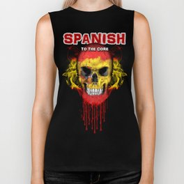 To The Core Collection: Spain Biker Tank
