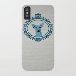 Aristocratic Mini Pinscher iPhone Case