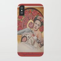 frida kahlo iPhone & iPod Cases featuring Frida kahlo by Magdalena Almero
