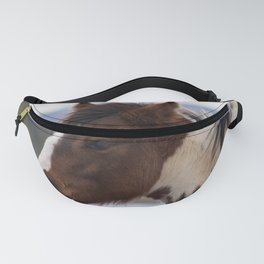 Tri-Colored Horse Fanny Pack