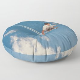Sky Skater Floor Pillow