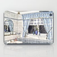bathroom iPad Cases featuring Bathroom Image by Valerie Paterson