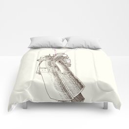 Dystopian Flying Devices Comforters