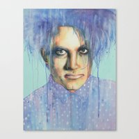 the cure Canvas Prints featuring Pastel Cure by Anne Blondie Bengard