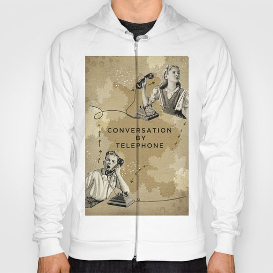 Conversation by Telephone Hoody