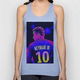 Neon Neymar Unisex Tank Top