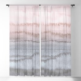 WITHIN THE TIDES - SCANDI LOVE Sheer Curtain