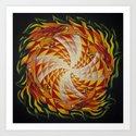 Wheel of Dragons / Draakonikera by ingridprass