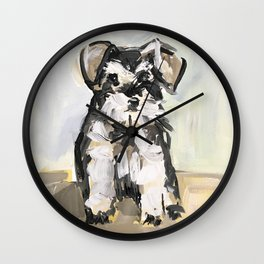 Little Schnauzer Wall Clock