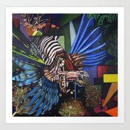 King of the Reef Art Print
