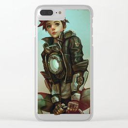 tracer 1900 Clear iPhone Case