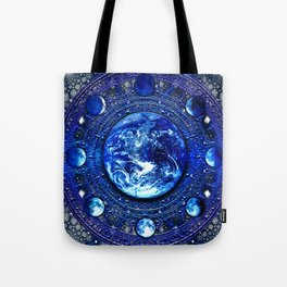 Moon Phases III Tote Bag
