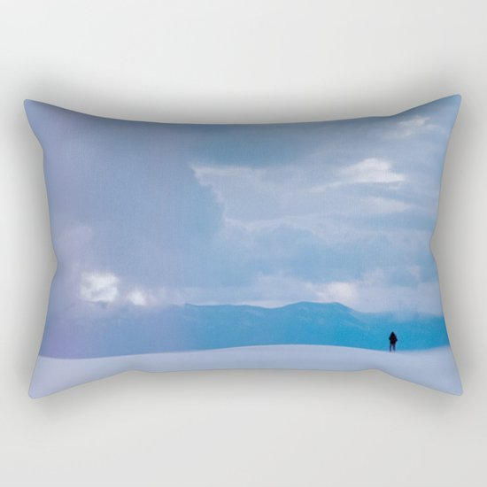 the odds tell another story Rectangular Pillow
