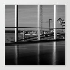 Seen from the terminal Canvas Print