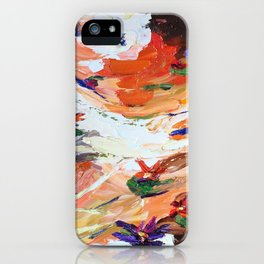 Sunset Lillies iPhone Case