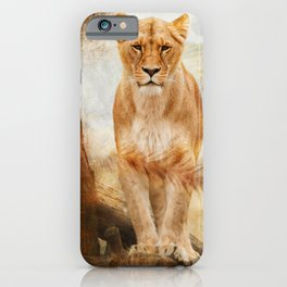 Lions Paradise iPhone Case