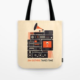 Jim Guthrie Takes Time Tote Bag