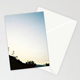 Mountain Dusk Stationery Cards