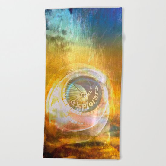 EXPLORERS ONLY / The Biggest Spatial Eye / 26-08-16 Beach Towel