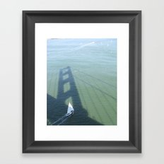 USA - San Francisco - The Bridge Framed Art Print