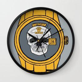 Skull Rolex Wall Clock