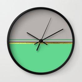 Minimalist Spring III Wall Clock