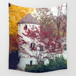 All The Colors of Autumn Wall Tapestry