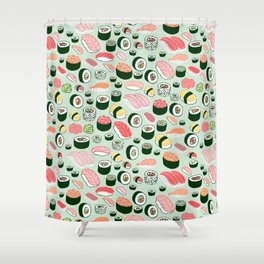 Sushi Forever Shower Curtain