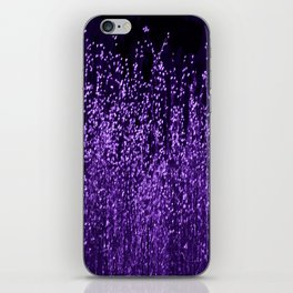 Grasses2 Purple iPhone Skin