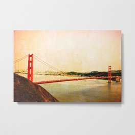 GOLDEN GATE BRIDGE - SAN FRANCISCO Metal Print