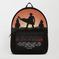 You'll never leave Harlan alive Backpack