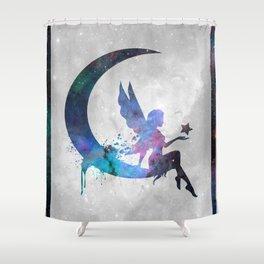 Galaxy Series (Fairy) Shower Curtain
