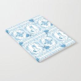 Marie-Antoinette Monogram (Aqua) Notebook