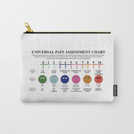 Universal Pain Assessment Chart Carry-All Pouch