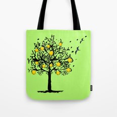 Orange tree Orchard Tote Bag
