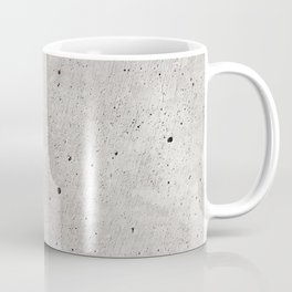 Smooth Concrete Small Rock Holes Light Brush Pattern Gray Textured Pattern Coffee Mug
