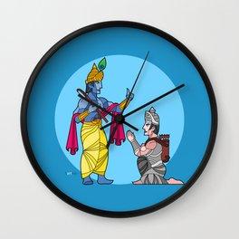 A tale of friends Wall Clock