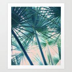 Tropical Palm #society6 #buyart #home #lifestyle Art Print