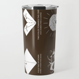 Origami Instruction Travel Mug