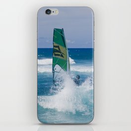 Hookipa Windsurfing North Shore Maui Hawaii iPhone Skin