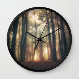 Greenlitwoods Wall Clock