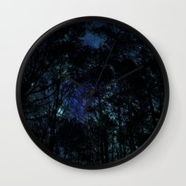 Galaxy Forest Wall Clock