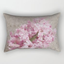 Pink Hyacinth Rectangular Pillow