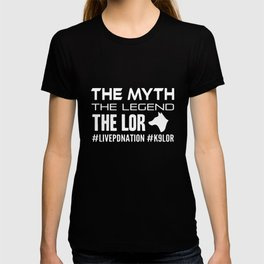 the myth the legend the lor dogs t-shirts T-shirt