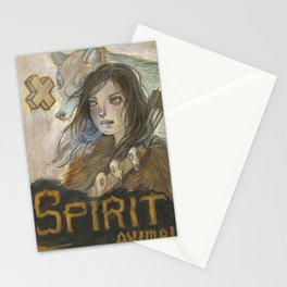 Spirit Animal Stationery Cards