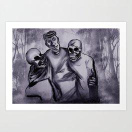 Best Buds! Art Print