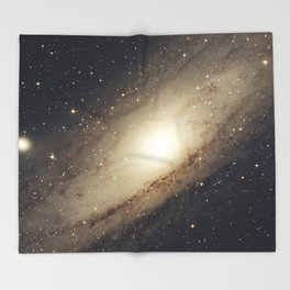 Andromeda Galaxy Throw Blanket